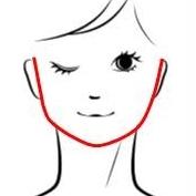 顔の輪郭は身に着ける物の形で変わってくる?序章♪フェイスラインを知る