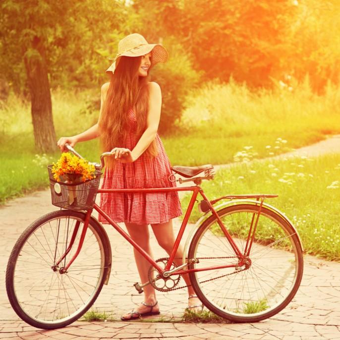 ダイエットに!気分も爽快に!嬉しいことしかない!自転車の効果!