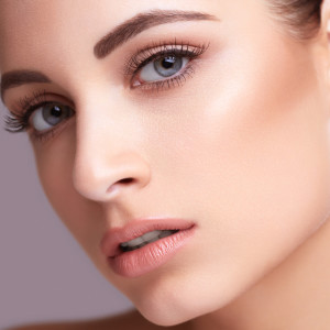 Beauty face portarit of a woman