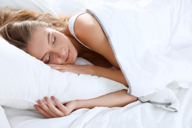 リラックスしてよく眠る