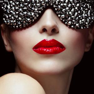 Beautiful elegant woman with eyewear