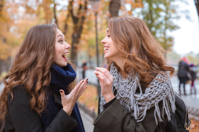 笑うことは多くのカロリーを消費する
