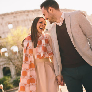 Couple in Rome