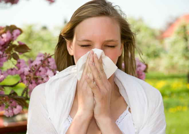 花粉症で悩む人