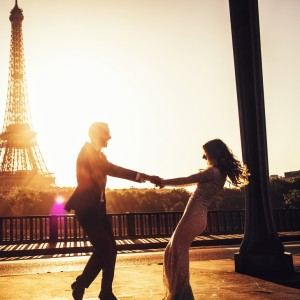 Celebrating our love in Paris