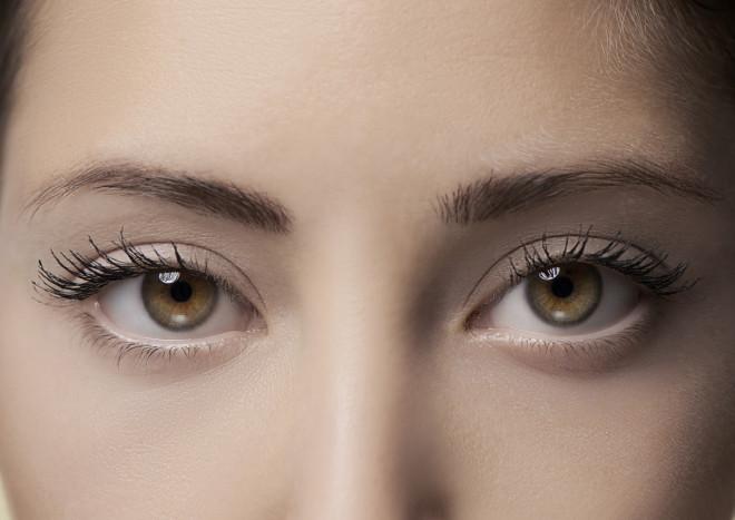 Beautiful eyes, close up