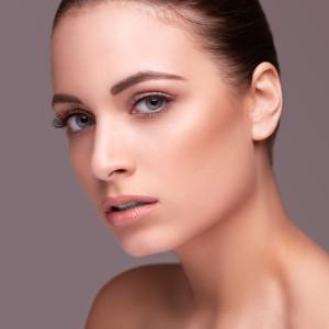 Beauty shot. Beautiful woman with healthy skin