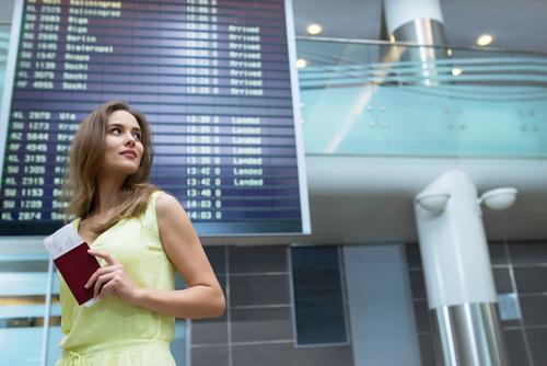 空港到着時間はゆとりを持つ
