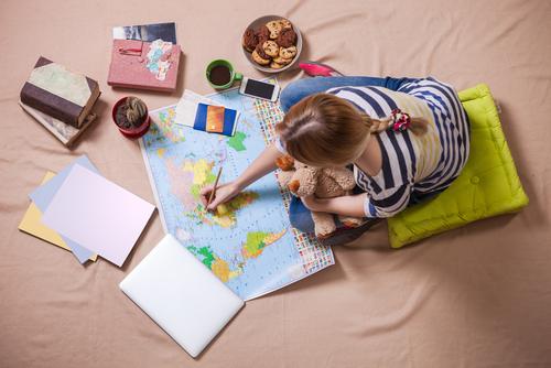 旅行の計画を立てる