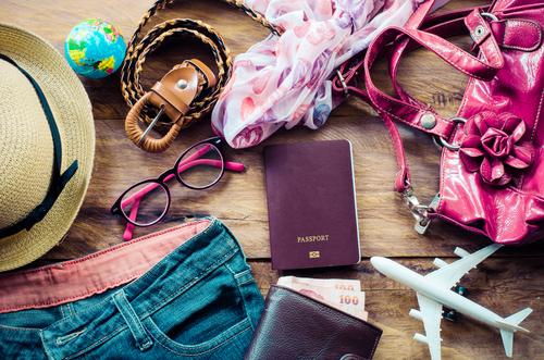 旅行バッグの準備