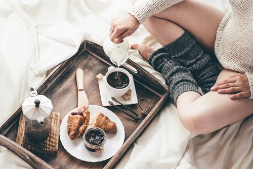 良い朝ごはんを摂る
