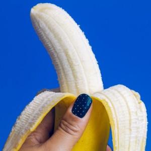 バナナとネイル