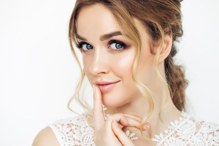 Photo of young beautiful woman