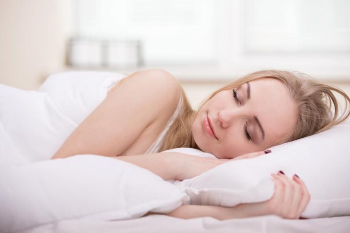 Girl In Bed