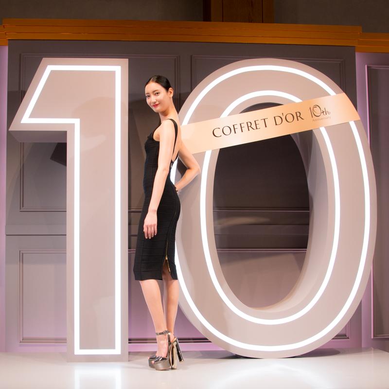 """""""菜々緒""""が新イメージモデルに!ブランド10周年の『コフレドール』は「ハンサム・ビューティ」へ・・・!"""