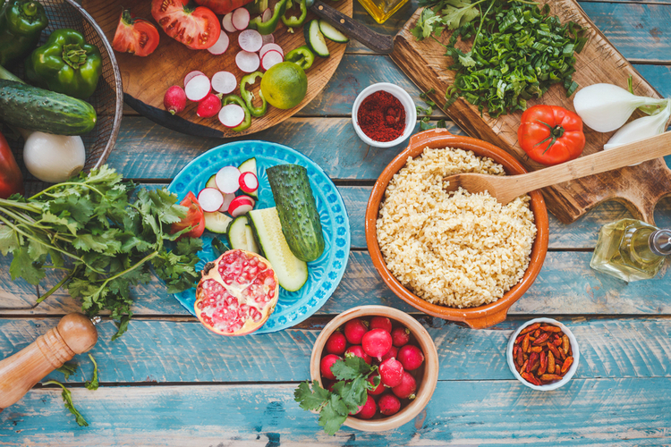 食生活の見直しを心掛ける