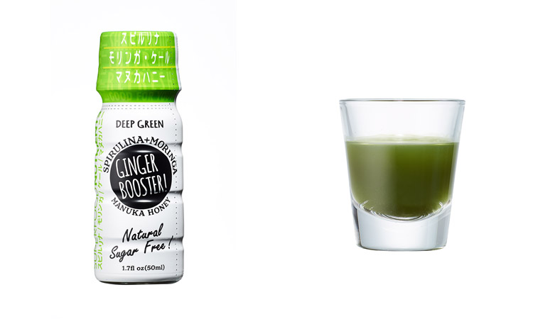GINGER BOOSTER! DEEP GREEN