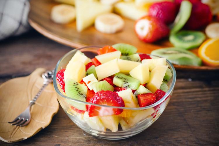 朝フルーツを食べるときは要注意