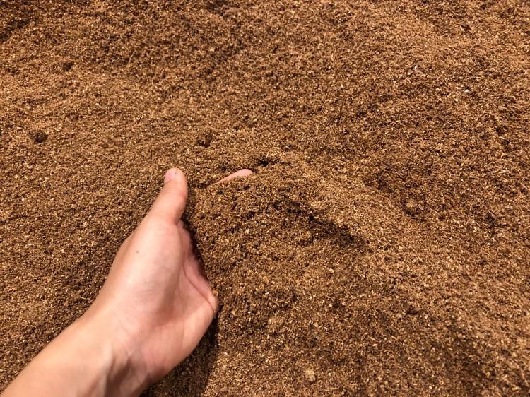 柔らかい砂のような酵素パウダー