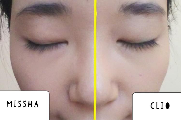 韓国のクッションファンデ2種を使い比べ
