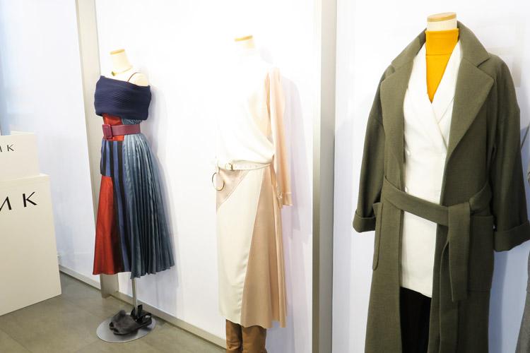 「RMK ムーンブルーム カラーリングアイズ 」をイメージした秋のファッション