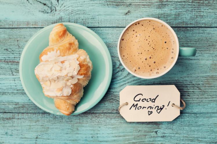 朝ごはんはしっかりと食べる