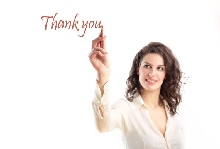 「ありがとう」を忘れない