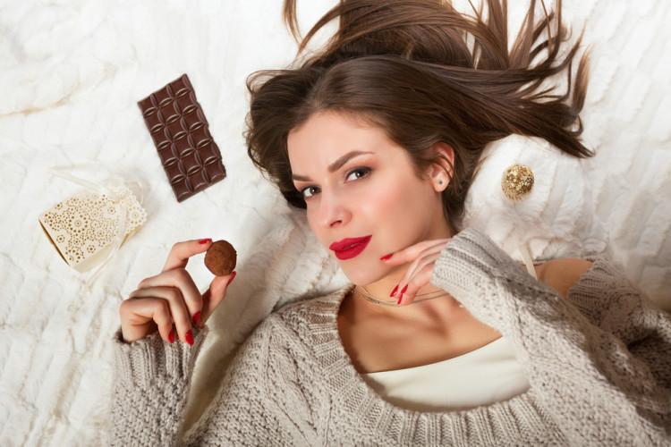 チョコレートと美肌の関係