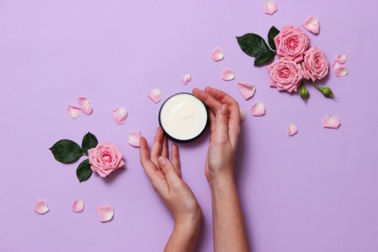 香り付きのハンドクリーム