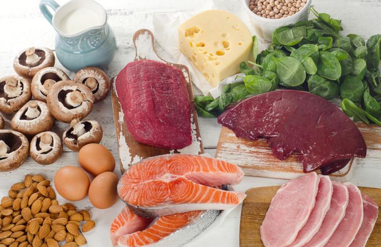 ビタミンB類を含む食べ物