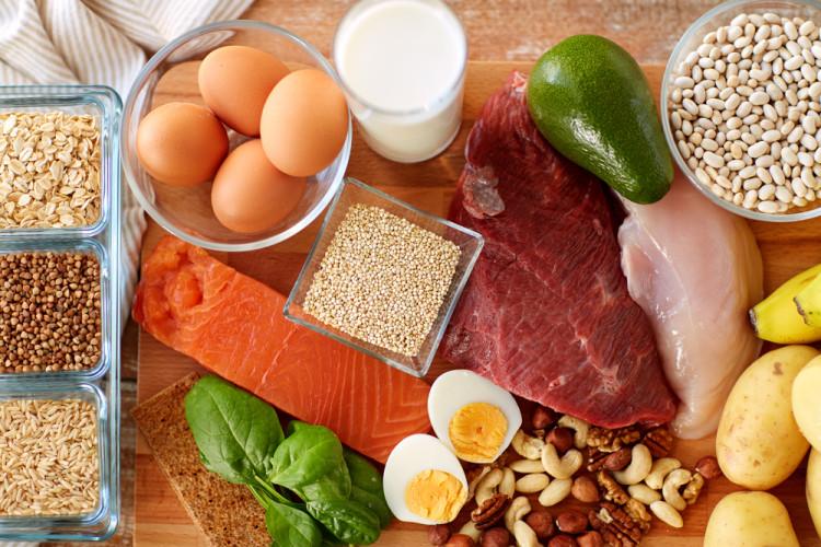 たんぱく質を含む食べ物
