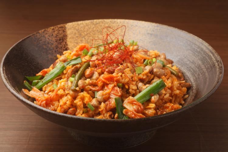 納豆と一緒に食べるなら「キムチ」