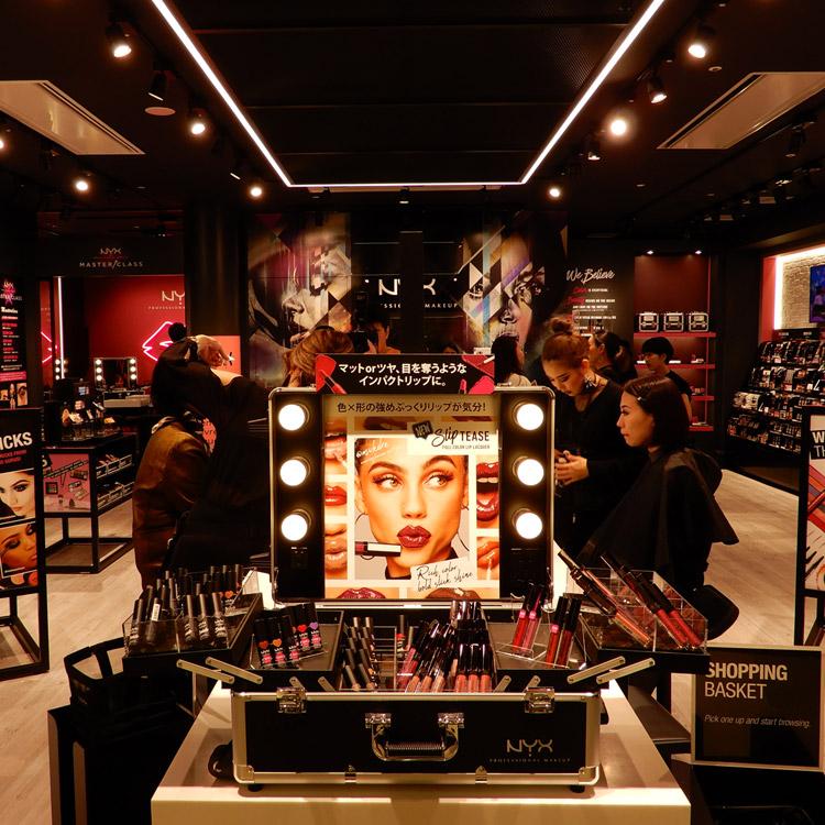 「NYX Professional Makeup」が西日本初の旗艦店をオープン!
