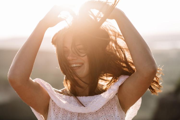 キラキラと輝く素敵な笑顔