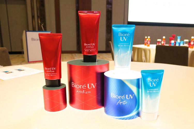 新処方搭載・アウタースキン発想の新UV