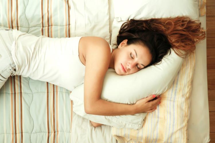 充分な睡眠で心身を休める