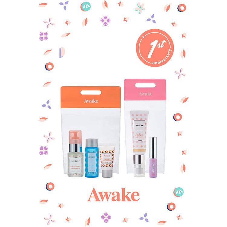 新生『Awake(アウェイク)』1周年!!「アウェイク 1st アニバーサリーキット」2月1日より発売開始