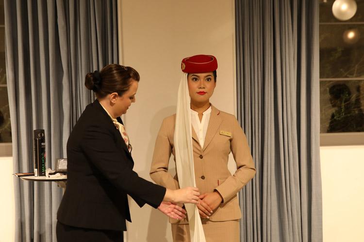 エミレーツ航空の客室乗務員