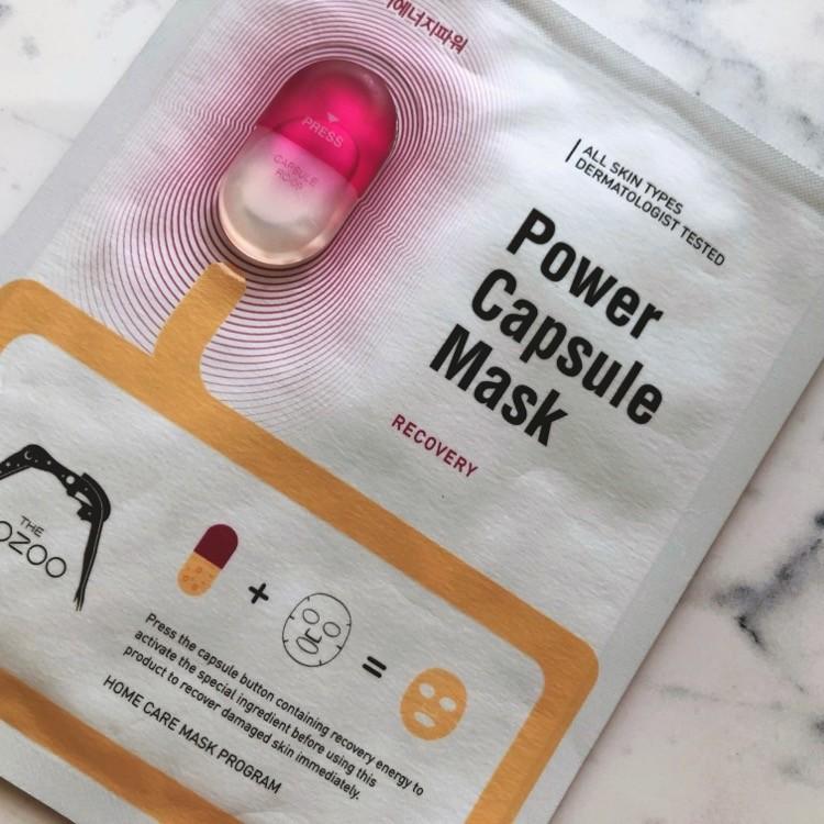 THE OOZOOのパワーカプセルマスク