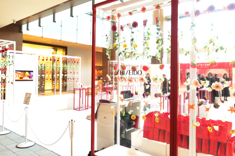 『SHISEIDO D&R Beauty House』開催スケジュール