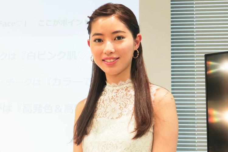 長井かおりさん直伝「春のよくばりFace」完成