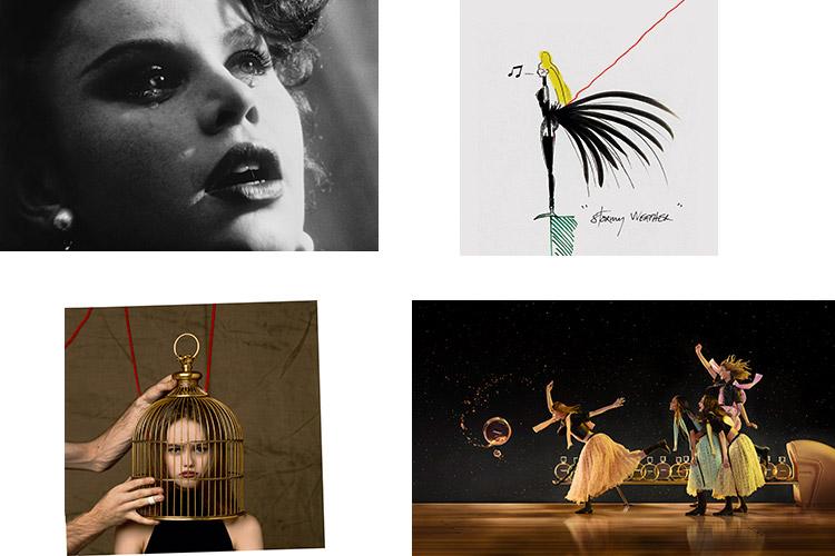 ジャン=ポール グードによるシャネルとのコラボレーション作品の展示