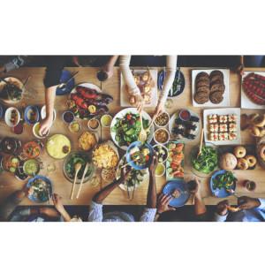 たくさんの食べ物