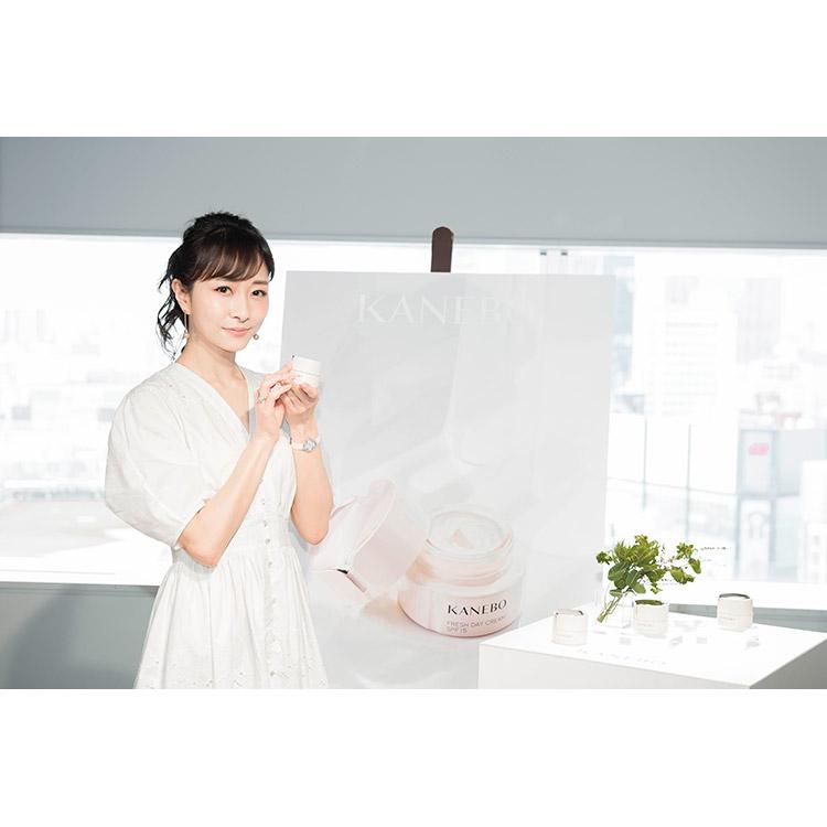 42歳の美容家・石井美保さんはなぜそんなに美肌なの?「朝クリーム」のススメ【カネボウ フレッシュ デイ クリーム メディアセミナー】
