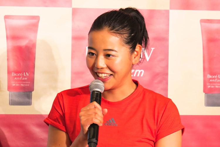 ビオレUVアンバサダー・プロビーチバレー選手の坂口佳穂さん