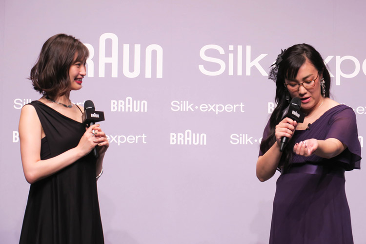 お笑いコンビ「たんぽぽ」の白鳥久美子さん