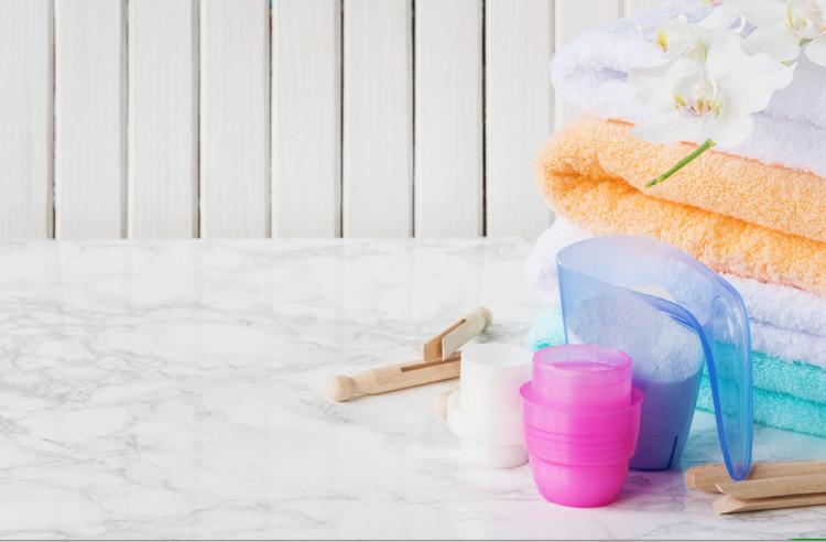 汚れに応じて洗剤を変える