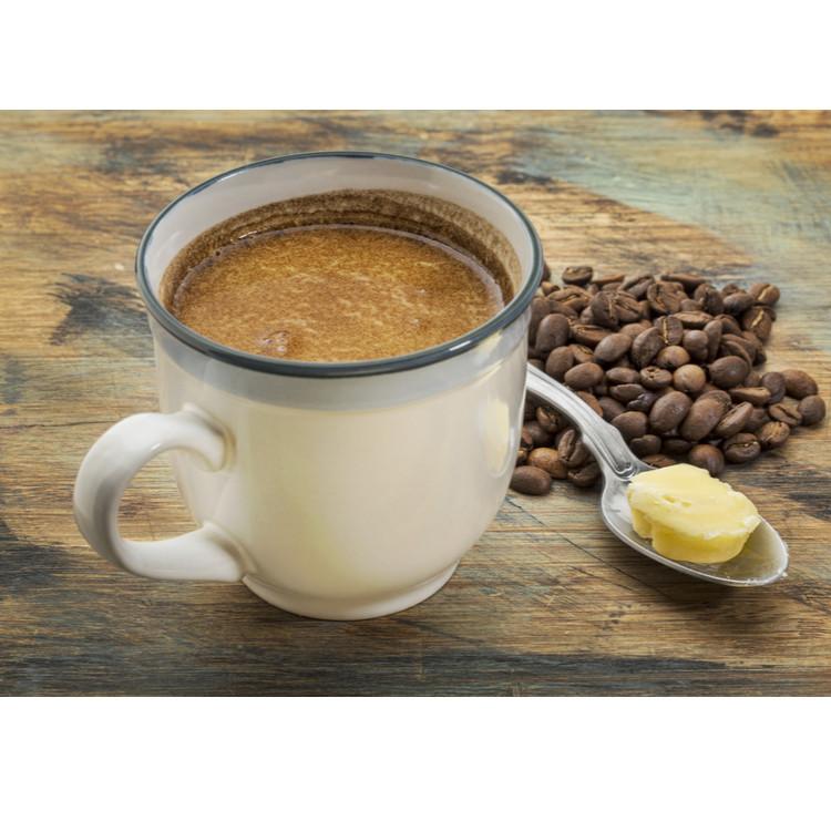 コーヒーとバター