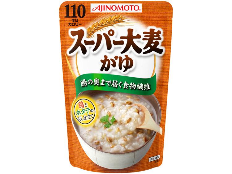 味の素_スーパー大麦がゆ 商品パッケージ