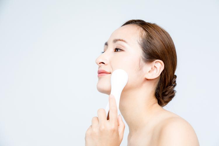 家庭用美顔器の使用